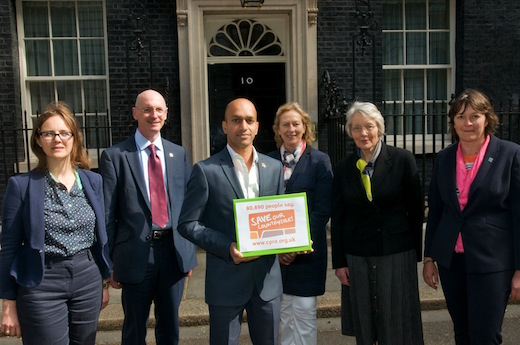 Countryside Charter being presented at 10 Downing Street