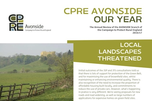 CPRE Avonside 2017 Annual Report cover