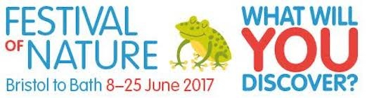Come and say hello to us at the Festival of Nature in Bristol (10th and 11th June) and Bath (25th June)