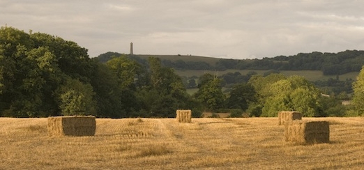 Tyndale monument in summer